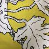 SKAPELSE svart/vit på gul botten